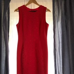 Karl Lagerfeld Lave Inset Dress Size 8